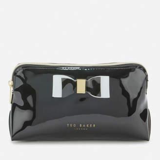 Ted Baker Women's Vivekah Bow Detail Makeup Bag - Black