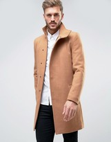 ONLY & SONS Asymmetric Overcoat