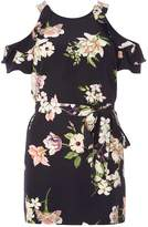 Dorothy Perkins Navy Floral Tunic