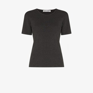 Our Legacy ribbed melange cotton T-shirt