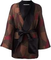 Rosetta Getty shawl robe trapeze jacket