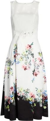 Ted Baker Camylle Pergola Midi Dress
