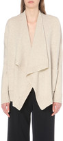 Vince Waterfall-lapel wool and cashmere-blend cardigan