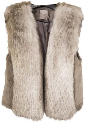 Urban Code Urbancode Beige Faux fur Jacket for Women