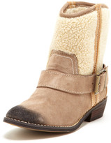 Kelsi Dagger Tempest Faux Shearling Bootie