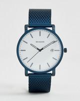 Skagen SKW6326 Hagen Mesh Watch In Blue 40mm