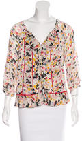 Diane von Furstenberg Silk Button-Up Top w/ Tags