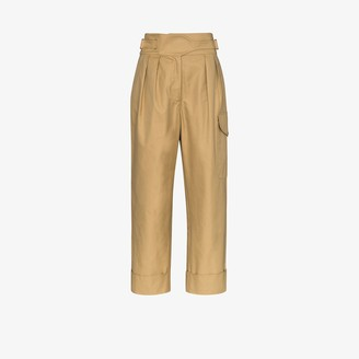 See by Chloe High Waist Cargo Trousers
