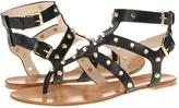 KORS Jordyn (Black Vachetta) - Footwear