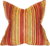 Barclay Butera Stripe 22x22 Linen-Blend Pillow, Multi