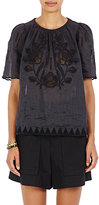 Isabel Marant Women's Araza Embroidered Top