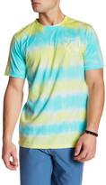 Quiksilver Short Sleeve Tie-Dye Graphic Print Tee