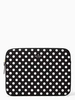 Kate Spade 13 Inch Neoprene Dot Laptop Sleeve