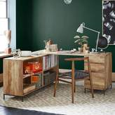 west elm Industrial Modular Desk Set Box File & Bookcase