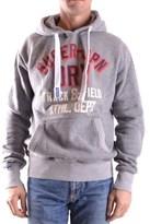 Superdry Men's Grey Cotton Sweatshirt.