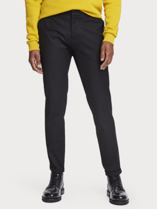 Scotch & Soda Mott - medium-rise cotton-blend suit pants | Men
