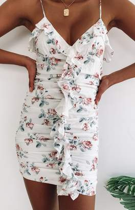 Beginning Boutique Happiness Begins Dress White Floral