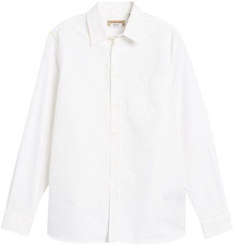 Burberry Solid Slim Fit Shirt