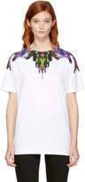 Marcelo Burlon County of Milan Ssense Exclusive White Col T-shirt