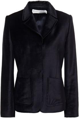 Victoria Victoria Beckham Cotton-blend Velvet Blazer