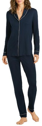 Hanro Natural Comfort Knit Pajama Set