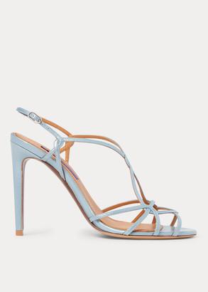 Ralph Lauren Bladine Lambskin Sandal