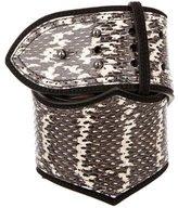 Alaia Snakeskin Waist Belt w/ Tags