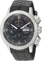 Edox Men's 01118 3 NO Chronorally 1 Analog Display Swiss Automatic Watch