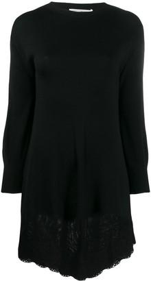 Philosophy di Lorenzo Serafini lace hem sweater dress