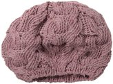 San Diego Hat Company San Diego Hat Women's Recycled Yarn Cable-Knit Beret