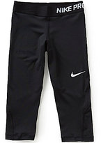 Nike Big Girls 7-16 Dri-FIT Capri Leggings