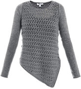 Helmut Lang Textured-knit sweater