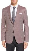 BOSS Men's Hanwyn Trim Fit Wool Blazer