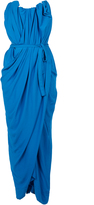 Vivienne Westwood Susanna Dress Cobalt Blue Size 12