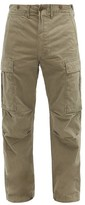 Thumbnail for your product : Ralph Lauren RRL Cotton-twill Cargo Trousers - Green