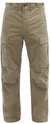 Ralph Lauren RRL Cotton-twill Cargo Trousers - Mens - Green