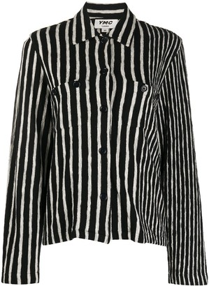 YMC Striped Cotton Shirt