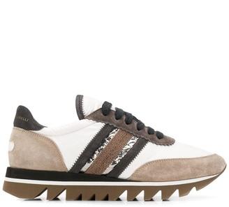 Brunello Cucinelli Ridged Sole Sneakers