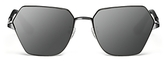 Elizabeth and James Henly Mirrored Sunglasses, 56mm