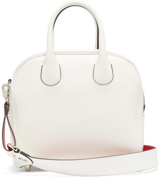 Christian Louboutin Marie Jane Leather Bag - White