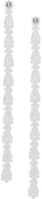 Simone Rocha Long Beaded Drop Earrings
