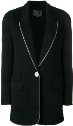 Alexander Wang zip trim blazer