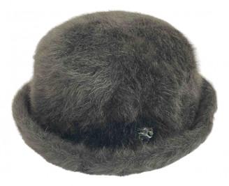 Philip Treacy Grey Rabbit Hats