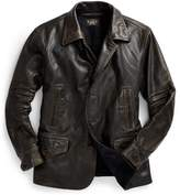 Ralph Lauren Leather Car Coat