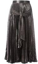 Christopher Kane metallic pointelle skirt