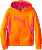 Puma Big Girls' Cat Hoodie with Thumb Hole