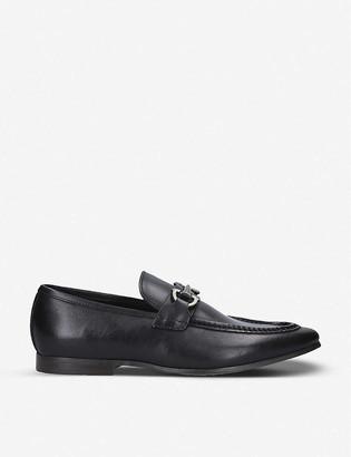 Aldo Daywen buckle-embellished leather loafers