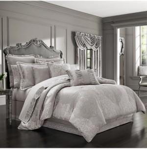 J Queen New York La Scala California King 4-Pc. Comforter Set Bedding