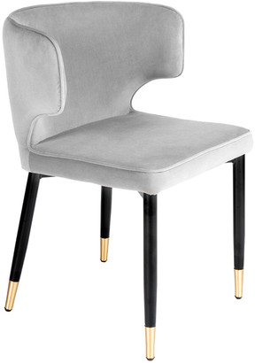 Statements By J Set Of 2 Kayla Curved Upholstered Dining Chair