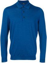 Kiton knitted polo shirt